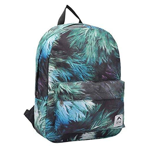 Rucksack Tagesrucksack - 15 Bedruckt Flippige Designs - 20 Liter Kapazität Rucksäcke - Kinder Schultaschen Passend für Jungen oder Mädchen - 1 groß Haupt Tasche Fach + Fronttasche - RL900M (Eine Haupt-tasche)