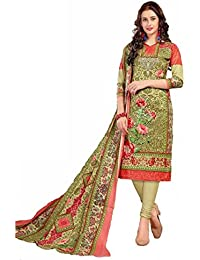 ZAFFAZ Unstitched Cotton Dress Material Free Size and Delivery RS4002