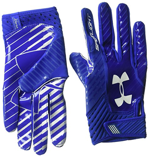 Under Armour Spotlight American Football Handschuhe - Royal (401) - Large