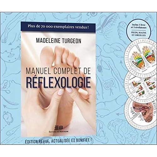 Manuel complet de réflexologie - Coffret Livre + Planches