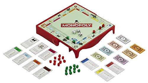 Hasbro Monopoly Grab & Go-Spiel für Unterwegs (Englische Sprache) [UK Import]