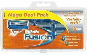 Gillette Fusion Klingen 12 Stück Vorteilspack (Bigpack)