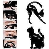 ILOVEDIY Maquillage Eyeliner Chat Pochoir Rapide Stencil Models Template Stamp