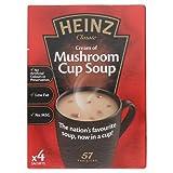 Heinz Classic Cream of Mushroom Cup Soup Sachets, 4 x 17.5 g