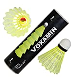 #8: Voxamin LS-225 Badminton Nylon Shuttlecocks (Pack of Six).
