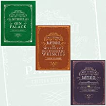 Curious Bartender Collection Tristan Stephenson 3 Books Bundle - Gin Palace, An Odyssey of Malt, Bourbon & Rye Whiskies, The artistry and alchemy of creating the perfect cocktail by Tristan Stephenson (2016-11-09)