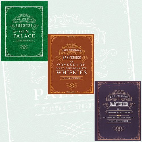 Curious Bartender Collection Tristan Stephenson 3 Books Bundle - Gin Palace, An Odyssey of Malt, Bourbon & Rye Whiskies, The artistry and alchemy of creating the perfect cocktail