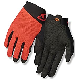 Giro Rivet II Gloves Men Vermillion/Black 2018 Fahrradhandschuhe