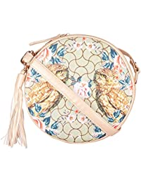 Round Shape Women Sling & Cross-Body Bag High Quality PU Ladies Sling Bag Girl's Cross-Body Bag By FIZZA (Available...