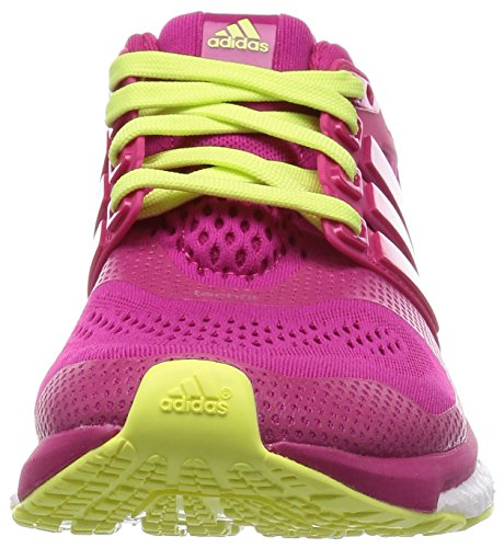 adidas Performance  Energy Boost ESM, Chaussures de course femmes Bold Pink / Bold Pink / Frozen Yellow