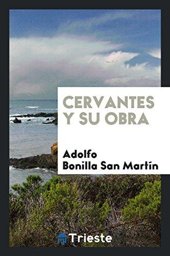 Descargar Libro Cervantes y su obra de Adolfo Bonilla San Martín