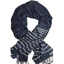 GENTLEMAN FARMER Sciarpa Scialle per Uomo Kefiah Blu Grigio 20 modelli diversi Alta Qualità Pashmina