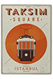 LEotiE SINCE 2004 Puzzle Urlaub Reisebüro Taksim Platz Istanbul Bedruckt 120 Teile