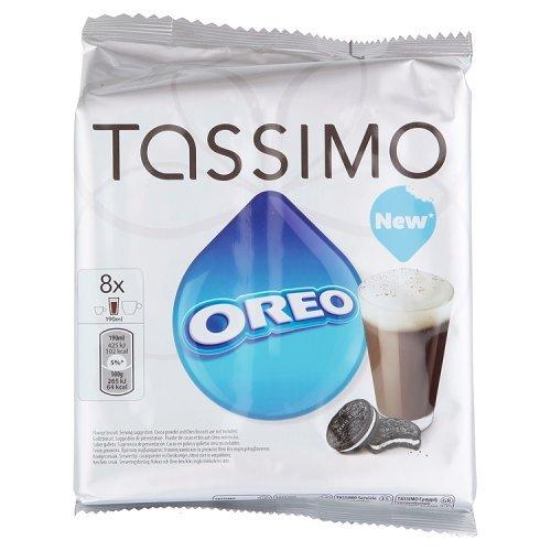 TASSIMO Chocolat chaud Oreo 16 Disc - Lot de 5 (80 Disc)