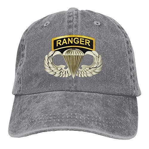 dfegyfr 101st Airborne Ranger Tabs Mens & Womens Baseballmütze Retro Jean Snapback Hut Fashion18 (White Ranger Kostüm Kinder)