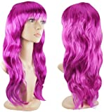 Jazooli Womens Ladies Long Curly Wavy Fancy Dress Full Hair Clip Wig Costume Party