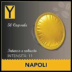 50 CAPSULE LAVAZZA* A MODO MIO* compatibili - NAPOLI
