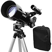 Aomekie AO2009 F40070M Refractor Astronomy Telescope for Beginners, Travel Scope with Backpack and Adjustable Tripod