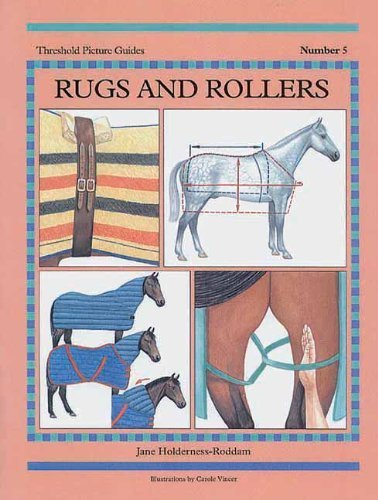Rugs and Rollers (Threshold Picture Guides) 2nd edition by Holderness-Roddam, Jane (2006) Paperback