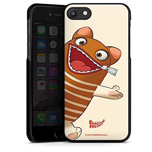 Apple iPhone X Silikon Hülle Case Schutzhülle Sorgenfresser Enno Fanartikel Merchandise Hard Case schwarz