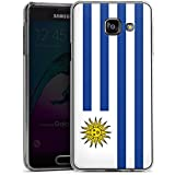 Samsung Galaxy A3 (2016) Housse Étui Protection Coque Uruguay Drapeau Ballon de football