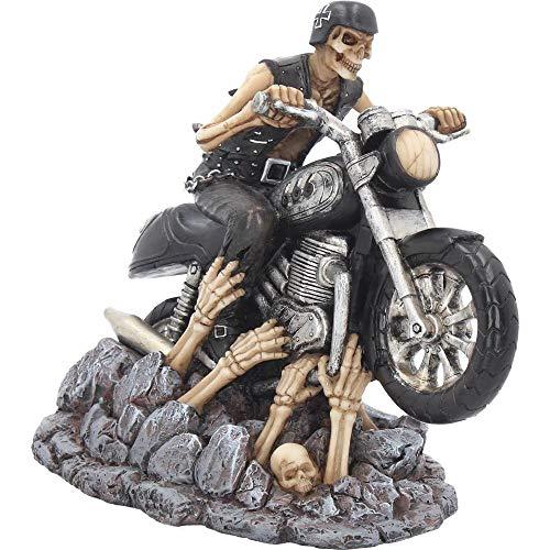 Details zu James Ryman Skelett Biker Rocker Skull Gothic Halloween Figur Sammlerfigur MC