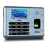 Ciecoo Revolutionäre Fingerabdruck Zeit & Anwesenheit Terminal TX628 freie Software Zeitschaltuhr Mitarbeiter Zeit Track Device Management