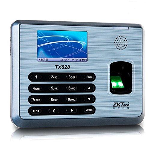 Ciecoo Revolutionäre Fingerabdruck Zeit & Anwesenheit Terminal TX628 freie Software Zeitschaltuhr Mitarbeiter Zeit Track Device Management (Fingerabdruck-leser-software)
