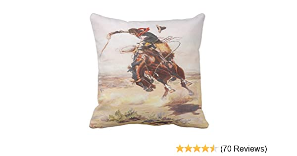 Emvency Throw Pillow Covers Horse Race
