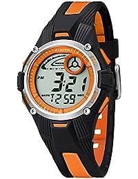 Calypso Kinder/Jugend Armbanduhr Digitaluhr Alarm Orange K5558/4