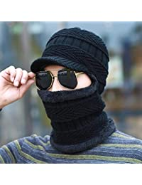 ADream Caldo Cappello Uomo e Donna Invernale Moda Ciclismo Antivento  Bambini Inverno Caldo Paraorecchie Cappello Cotone fafb47ed0d1e