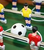 Idena 6170001 – Mini Tischfußball, circa 34 x 32 cm, inklusive 2 Bälle und 12 Spieler - 3