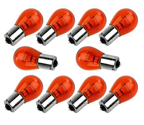 10x-New-Car-Indicator-Amber-Offset-Pins-Lens-Car-Bulb-12V-21W-343-Long-Life