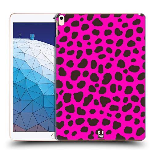 Head Case Designs Gepard Rosa Verrückte Drucke 2 Harte Rueckseiten Huelle kompatibel mit iPad Air (2019)