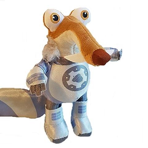 Ice Age 5 Plüsch Figur Eichhörnchen Scrat Astronaut 20 cm Kollision Voraus Plüschtier