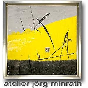 Jörg Minrath - Handgemaltes Original - Gemälde auf Holzkeilrahmen - Abstrakte Bilder - Modern Art - Kunst - Painting - Zeitgenössische Kunst - Abstrakte Malerei
