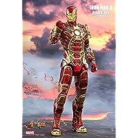 "Hot Toys HT902963 Marvel Iron Man Mark XLI ""Bones Retro Armor Version Figure, escala 1:6"