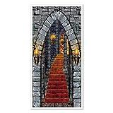 Beistle Beistle Castle Eingang Tür, 30Geschenkpapierrolle 150cm