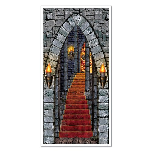 Beistle Castle Eingang Tür, 30Geschenkpapierrolle 150cm