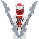 LEGO Ninjago Minifigur Snappa aus Set 9442 incl. 2 GALAXYARMS Schwertern