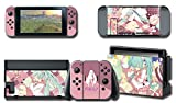 Nintendo Switch Skin Design Aufkleber Schutzfolie Set Hatsune Miku Edition - Girappa Gaming …