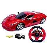 #10: Lalli Sales Steering Remote Control Racing Car for Childrens Assorted Colors
