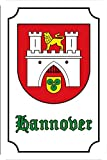 Schatzmix Stadtwappen Hannover barschild, Nostalgie, historiches Stadt