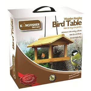 Bird–Bird Table Bois suspendus