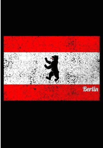 Notizbuch Ideenbuch Berlin:140 Seiten Einschreibebuch mit Punktraster Softcover
