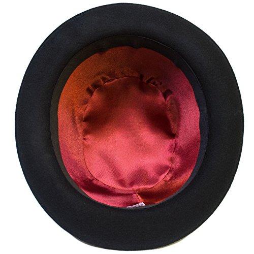 Hommes/Dames/Femmes/Unisexe Chapeau/Capuchon Nouveau Black