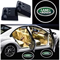 LAND ROVER Logo Car Door Welcome Light LED Projector Ghost Shadow Light