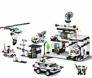 TopaZ - 24363 - Jeu de Construction - Le Poste de Police - 890 Pièces
