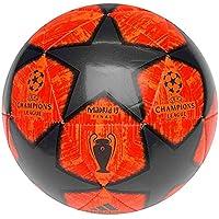 adidas Champions League 2019 Balón de Fútbol, Hombre (Naranja Solar/Final Champions League) Tamaño 5