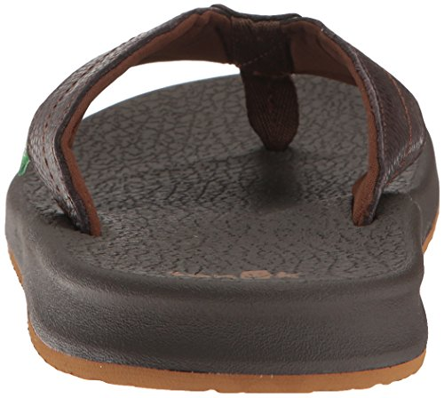 Sanuk Brumeister Primo Sandals Dark Brown